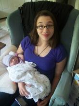 Em and Baby Clara