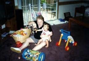 Grandma V - Baby Emily