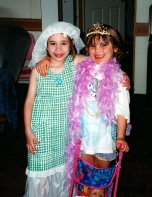 Kaylee and Em Dress-up